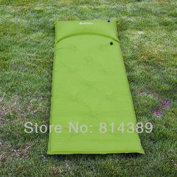 sponege soft cushion, Outdoor sleeping mat pad bag for single person, sleeping paded cushion with pillow(China (Mainland))