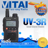 Big Sale! Outdoor Portable Radio Baofeng UV-3R 2 Way Radio Walkie Talkie VHF UHF Amateur Radio