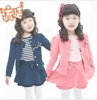 wholesalel baby girls dress children princess dress  set children spring autumn clothing set