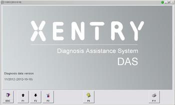 2013.07 For Mercedes Benz DAS truck mobile hard disk version ( For Mercedes Benz DAS Truck With USB HDD )