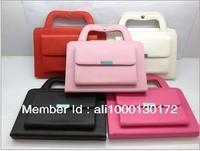 Free Shipping Portable Protective Fashion Bag Case Shell  For Apple iPad Mini colors Retail