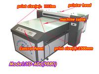 Outdoor uv flatbed printer equipment