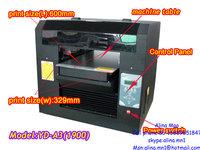 A3 flatbed cloth printer/heat press equipment