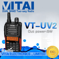 Dual Band Walkie Talkie FM Radio VITAI VT-UV2 Dual Band UHF/VHF FM Transceiver