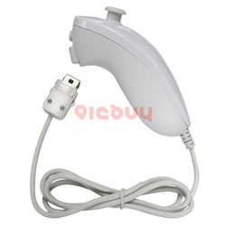 New White Nunchuk Controller for Nintendo Wii(China (Mainland))
