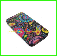 500PCS/LOT,Floral Jellyfish TPU Gel Case Cover for iPhone 4 4S,for iPhone 4 TPU Case iphone 4+ DHL Free Shipping