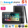 "In stock!HK Free shipping PIPO Smart-S1 7"" Android 4.1 OS Dual Core CPU Quad Core GPU Tablet with WiFi/Dual Camera"