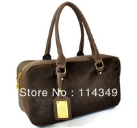 Luxury2012 fashion scrub rivet bag messenger bag multi-purpose women's handbag big bags Free Shipping