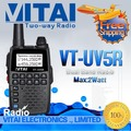 Mini Two Way Radio Walkie Talkie VITAI VT-UV5R Amateur Mini Radio Transceiver VHF UHF Handheld Dual Band Transceiver