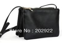 New Celebrity Beauty fashion Three for one set Trio bags women's handbag day clutch messenger Handbags Free Shipping