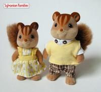 Sylvanian families squirrel lot of 2pcs Japanese version