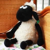 32cm shaun sean sheep flock mutton jumbuck plush soft stuffed doll toys for children freeshipping