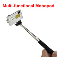 Free Shipping Mini Metal Extendable Adjustable Handheld Telescopic Self-portrait Tripod Monopod Extender For Camera Camcorder
