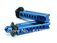 free shipping Traxxas REVO Silver/Blue Aluminum Front Body Post