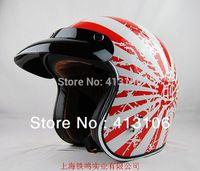 Free shipping/Motorcycle helmet/Jet helmet/Vintage helmet/Open face retro 3/4 half helmet/TORC T-50 Japanese Bobber