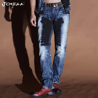 True Brand Jeans Original Designer Jeans  Denim  Jeans Men Hiphop rock Punk style British Fashion suit Low rise Skinny Luxury