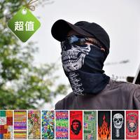 Variety magic bandanas seamless outside sport muffler scarf ride squareinto bicycle bandanas mask Neck Guard  wholesale