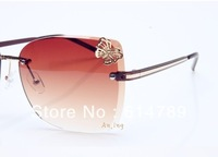 Nice design,Fashion sunglasses without frame colorful