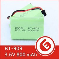 BT-909 Best AAA 3.6V 800mah NiMH Rechargeable Cordless Telephone Battery for Uniden Phone OEM factory price High quality
