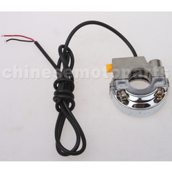 Plating ON & OFF Witch Kill Switch for 50cc-250cc ATV, Dirt Bike, Go Kart, Pocket Bike & Scooter(China (Mainland))