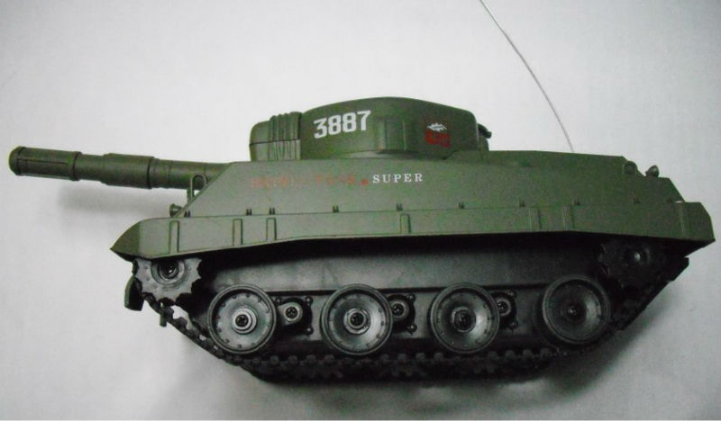 3887-1 radio control battle Armor plate Tank car full function special edition top models rc it Can shoot bullets Green Silver(China (Mainland))