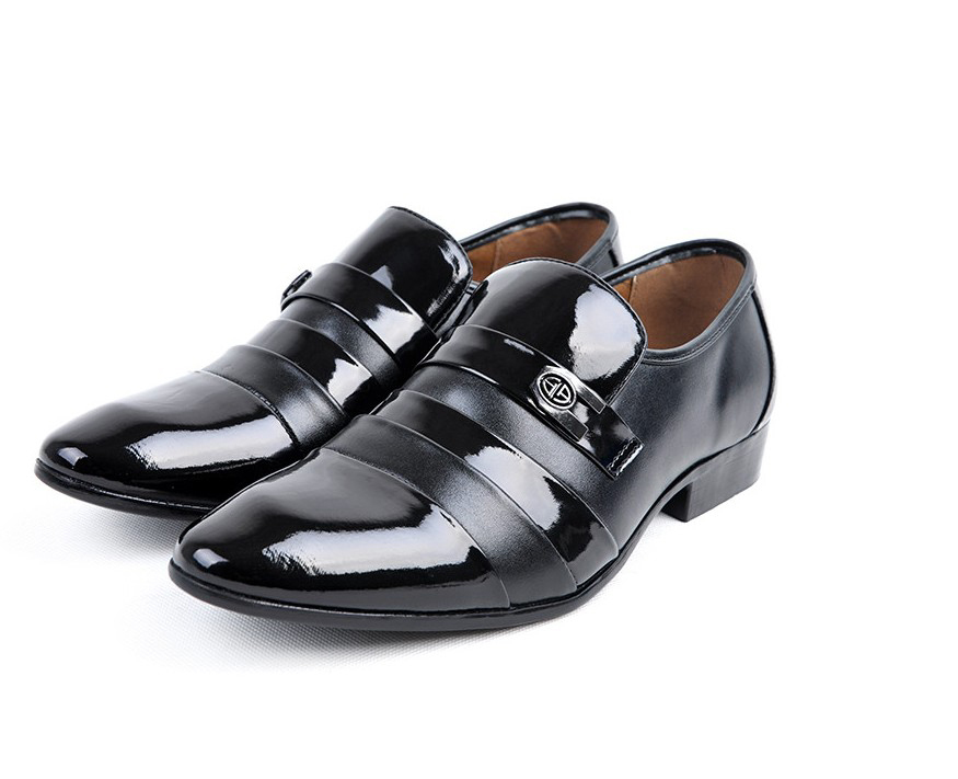 In Stock! New Arrival Genuine Leather Business Shoes Men Classic ...
