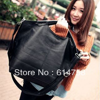2012 fashion big bags vintage bag work bag handbag messenger bag fashionable casual women's handbag J02