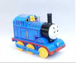 Hot sale Free Shipping Thomas electric rail train Thomas & Friends Mini electric train set track toy for Kids(China (Mainland))