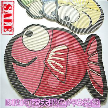 Japanese style rustic . slip-resistant pad cartoon carpet mats Large bath mat