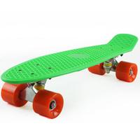 "Free Shipping 22"" Penny Original Plastic Banana Mini Crusier Stereo Cruiser Complete Skateboard Longboard"