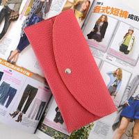 Free shipping 2013 fold women's wallet card holder documents bag flip thin chromophous long design