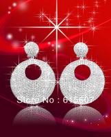 HME025 fashion lovely earrings,silver jewelry elegant  party earrings