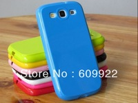 Neon Green TPU Rubber Skin Case Cover for Samsung Galaxy S III S3 i9300 Phone