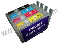T1711 - T1714 Empty  Refillable ink cartridges for epson xp-303 xp-306 xp-403 xp-406 xp-33  xp-103 xp-203  with ARC chips