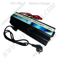 220v-240v AC to 12v DC Car battery Charger 50A, GEL battery charger
