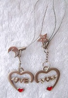 Mys-037 lovers mobile phone chain personalized heart lovers mobile phone chain 2 is a pair