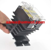 PQLYT 100% QUALITY ssr 25A solid state relay + heat sink + 2 mounting screws