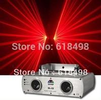 DL-22RR,DMX512 100mW + 100mW Double Red Laser Stage Lighting Disco Party KTV DJ