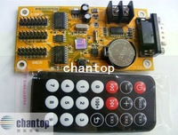 CTF-34A Remote control single&Two color Serial port multi-function LED Display controller card with Infrared Receiver