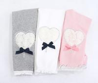 2013 New Arrivals girls leggings child Lace leggings for girl Kid Rose heart legging flower Baby legging Wholesale 5 pcs/lot