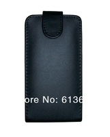 For LG E960 Google Nexus 4 black leather case cover,100pcs/lot,free shipping