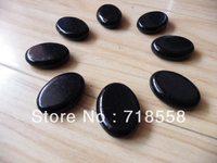 Free shipping hot sale stone 8 pcs mini massage facial stone set