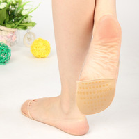 Hot-selling fashion female invisible socks sock slippers sponge pad belt pads slip-resistant pad high-heeled