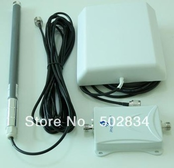 65dB Mobile Cell Phone Signal Booster Repeater Amplifier Verizon 4G LTE 700MHz+2 Antenna