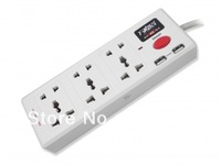 Free shipping power socket board with USB Charging Ports + Universal outlets Free shipping