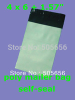 "[PM46]--4""x 6"" 10.2x 15.2cm [100pcs] good quality Poly Mailer bags Plastic envelope courier mailer"