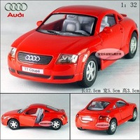 New AUDI TT Coupe 1:32 Alloy Diecast Car Model Toy Collection Red B102b