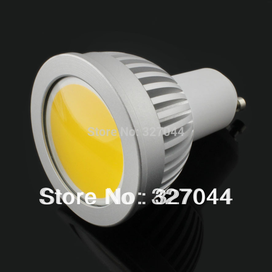 CPAM free shipping!Oxidation Aluminum shell 5w COB gu10 led spot light(China (Mainland))