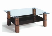 MDF with painting ,wood and glass coffee table ,tempered galss tea table ,coffee table ,A082