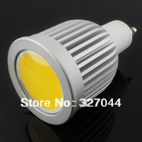 dimmable AC85-265V 9W COB GU10 LED Spotlight Bulbs 120 Degree CE & RoHS 2 Years Warranty dimmable Free Shipping